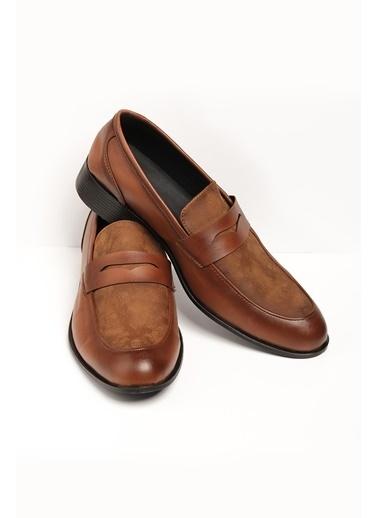 Oksit Gvn 018 Erkek Klasik Ayakkabı Taba